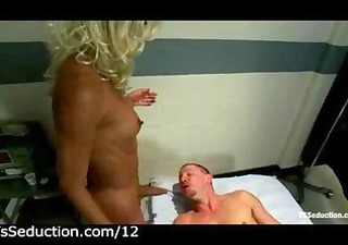 shemale copulates fastened guy in mouth in