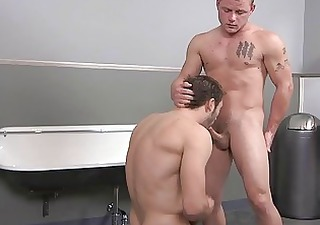 daddies and sons enjoying oral sex act