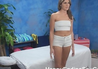 hawt massage cutie seduces client