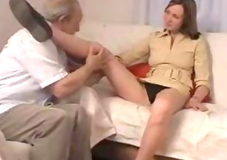 old older man taboo sex with girlfriend