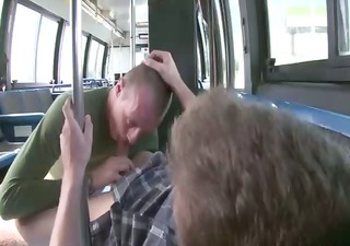 he is receives blown on his commute to work on